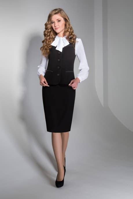 Блуза жилет и юбка
