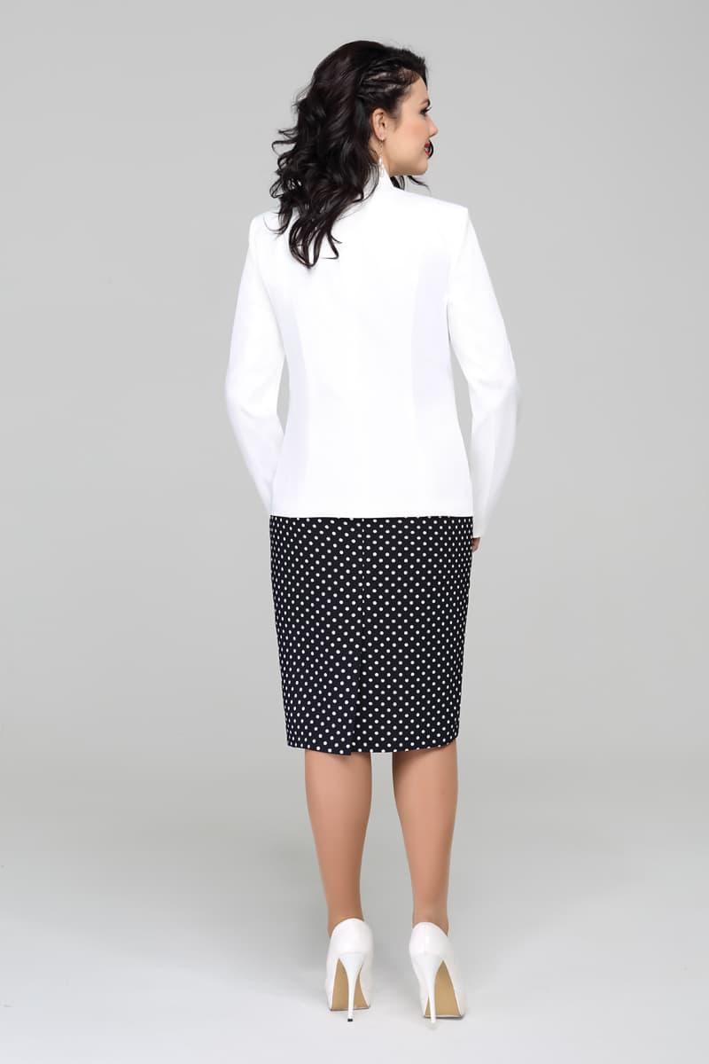 Женский белый деловой костюм доставка