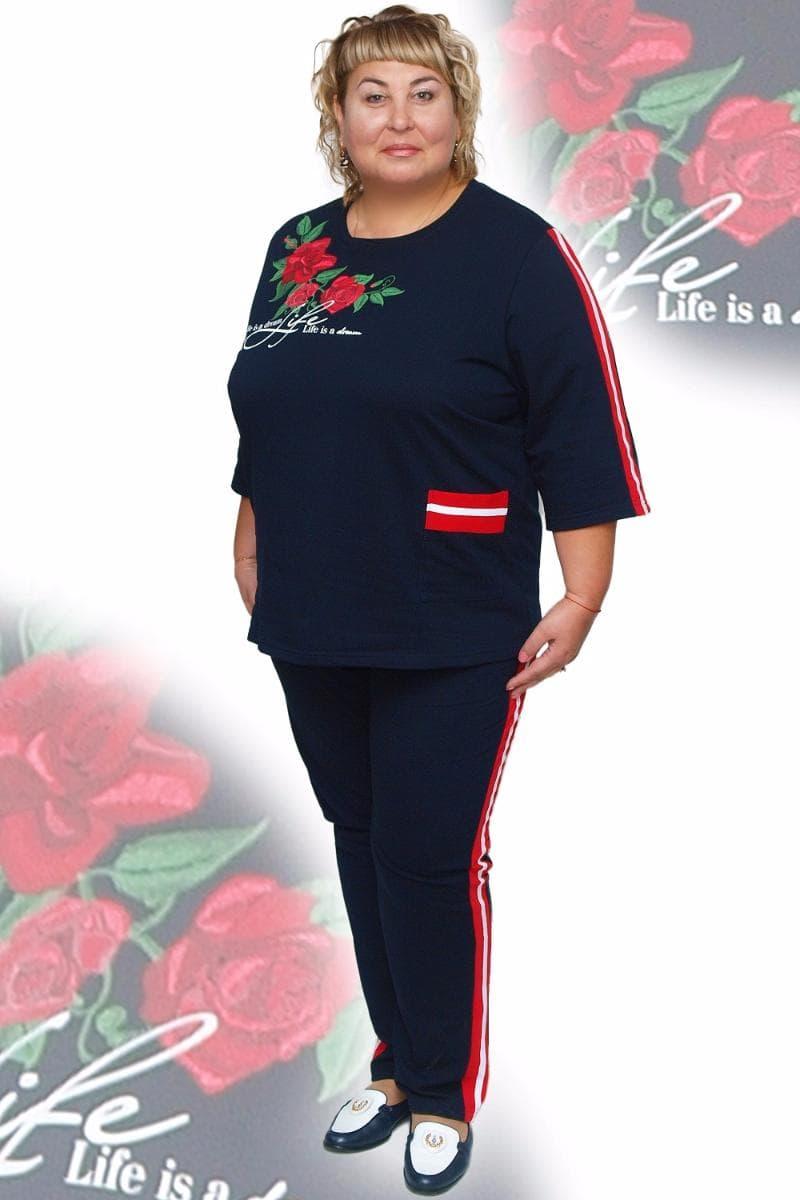 Домашний женский костюм больших размеров